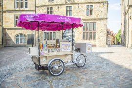 Waffle-Bike: Die Coffee-Bike GmbH startet weiteres  mobiles Franchisekonzept
