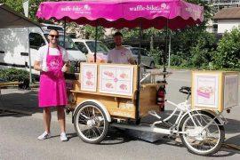 Das Waffle-Bike erobert Liechtenstein